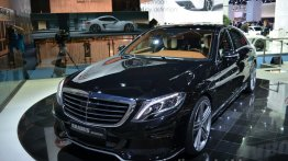 Frankfurt Live - 2014 Brabus S Class offers up to 730 hp!
