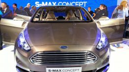 Frankfurt Live - Ford S-Max Concept revealed
