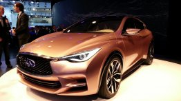 Frankfurt Live - The Infiniti Q30 Concept is tiny, but tough luxury