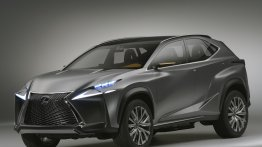 Lexus LF-NX Concept unveiled ahead of its Frankfurt premiere