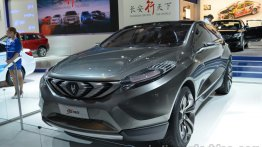 Frankfurt Live - Changan CS95 concept makes its European premiere