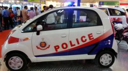 Tata Nano shown as a Delhi Police vehicle, looks brilliant!