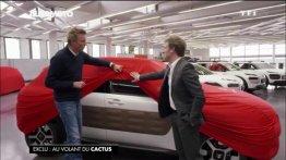 Production Citroen Cactus teased!