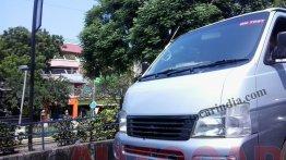 Spied - Nissan Urvan Van caught testing in Chennai; To be badged as an Ashok Leyland?
