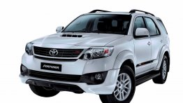 Toyota Fortuner TRD Sportivo Limited Edition launched at INR 24.26 lakhs