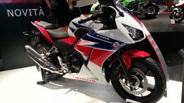 Honda CBR300R showcased for Europe at EICMA 2013