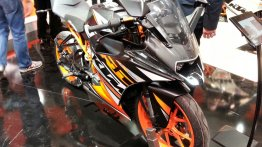 EICMA Live - KTM RC125, RC200, RC390, production KTM 1290 Super Duke R showcased