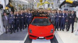 Last Lamborghini Gallardo built..And sold