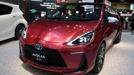 2013 Tokyo Motor Show Live - Toyota Aqua G Sports, Aqua Cross & Aqua Air