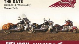 Indian Motorcycles launching in India on Jan 22