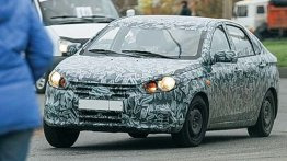 Russia - Lada's new B-Segment Sedan (Priora successor) spotted testing