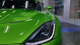 NAIAS Live: Dodge SRT Stryker Green Viper with GT package unveiled