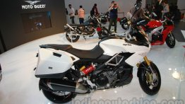 Auto Expo Live - Aprilia Caponord showcased