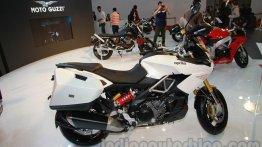 Auto Expo Live - Aprilia Caponord showcased