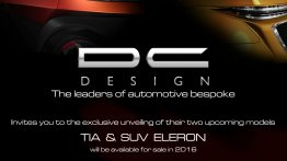 IAB Report - DC Design to unveil TIA small car and ELERON SUV at Auto Expo