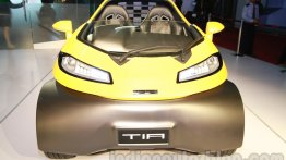 Auto Expo Live - DC Design unveils Tia, priced at Rs 18 lakh