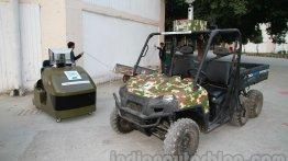 DefExpo India 2014 - Polaris unveils unmanned Ranger 6X6