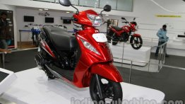 IAB Report - 2014 TVS Wego with new engine launched at INR 46,410