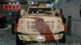 DefExpo 2014 - Tata Motors unveils LAMV armoured light patrol vehicle