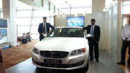 IAB Report - 2014 Volvo S80 facelift launched at INR 41.35 lakhs