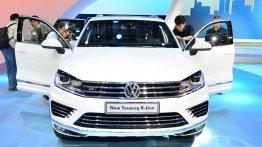 2015 Volkswagen Touareg (facelift) revealed [Update - Live images]
