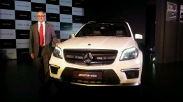 [Images Updated] Mercedes GL63 AMG launched at INR 1.66 crores