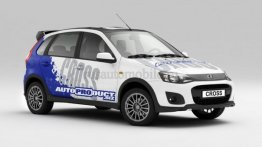 Russia - Privately built Lada Kalina Cross showcased