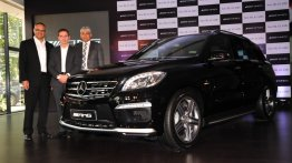 IAB Report - Mercedes ML 63 AMG launched at Rs 1.49 crore