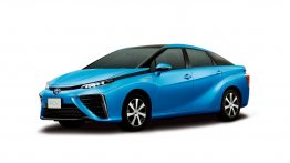 Report - Toyota FCV fuel cell sedan to be called as 'Mirai'