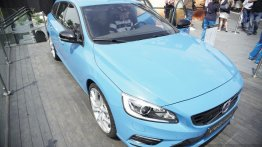 2014 Goodwood Live - Volvo V60 Polestar shown the week its production commenced