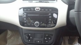 Spied - Fiat Punto Evo's dual-tone interior snapped up close