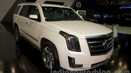 Moscow Live - 2015 Cadillac Escalade and ATS