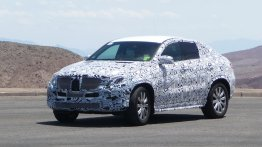 Spied - Mercedes MLC SUV caught testing in the Death Valley
