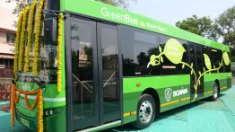 IAB Report - Scania commences pilot testing of ethanol powered city bus with Nagpur Municipal Corporation