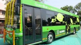 IAB Report - Scania commences pilot testing of ethanol powered city bus with Nagpur Municipal Corporation