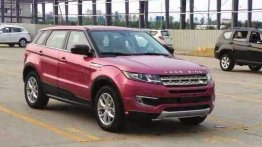 Clone of the Range Rover Evoque meets production in China