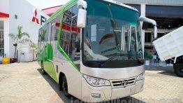 Indonesia Live - 23-seat Tata bus based on LP 713 showcased