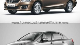 Old vs New - Maruti Ciaz vs Maruti SX4