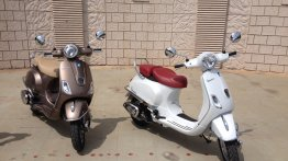 IAB Report - Vespa Elegante limited edition launched at INR 78,999