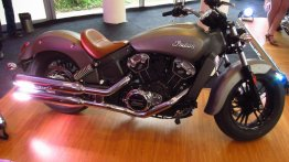 Report - 2015 Indian Scout showcased in India