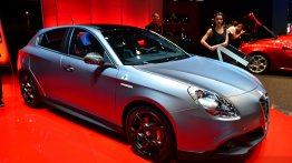 Paris Live - Alfa Romeo Giulietta Sprint, MiTo Junior, 4C Spider and Quadrifoglio Verde editions