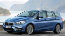 Rendering - BMW 2 Series Active Tourer MPV with 7 seats