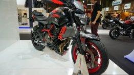 INTERMOT 2014 Live - Yamaha MT-07 Moto Cage