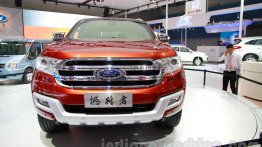 Guangzhou Live - India-bound 2015 Ford Everest (2015 Ford Endeavour)