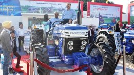 IAB Report - Escorts Farmtrac 6050 4x4 showcased in AgroTech