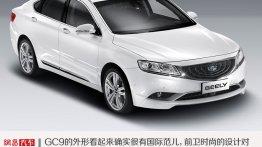 Geely GC9 premium flagship sedan revealed - China
