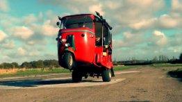 Video - The 100 bhp Bajaj auto rickshaw goes wild with weaponary