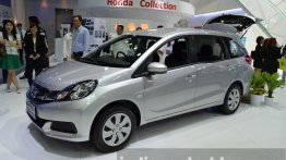 IAB Report - Honda Mobilio with 2-row seating displayed in Thailand