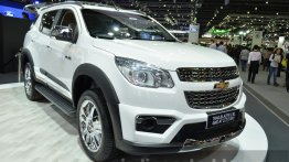Chevrolet Trailblazer SVP displayed at the Thailand Motor Expo: IAB Report