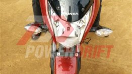 Honda CB Unicorn 160 snapped during TVC shoot - Spied